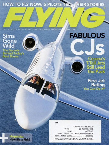 Flying 5 Pilots Tell Their Stories Vol.138 No.7 7.2011 July Issue Magazines N/A Flying