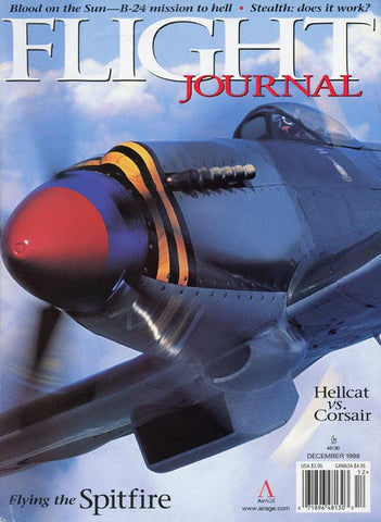 Flight Journal Blood On Sun B24 Mission Vol.3 No.6 12.1998 December Magazines N/A Flight Journal