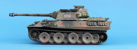 Heng Long 1:16 German Panther 2.4GHZ RC Radio Control Main Battle Tank #3819-1U N/A Heng_Long