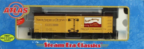 Atlas O Gauge North American Despatch NADX #1990 36' Wood Reefer Boxcar #8048-1U N/A Atlas