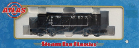Atlas O Gauge Ann Arbor A.A #30700 55 Ton Panel Side Hopper Car #8482-1U N/A Atlas