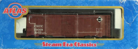 Atlas O Gauge Erie #79008 3-Rail 40' 1937 AAR Car Boxcar #8551-1U N/A Atlas