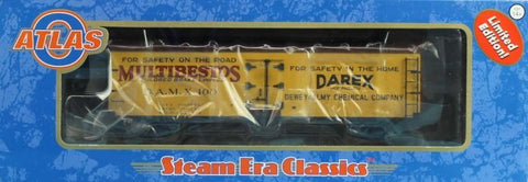 Atlas O Gauge Dewey Almy Chemical AMX #100 40' Wood Reefer #30015185U N/A Atlas