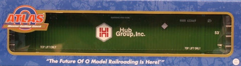 Atlas O Gauge Hub Group #633669 Master Line CIMC 53ft Container Car #3006307-11U N/A Atlas