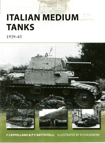 Osprey Italian Medium Tanks 1939-45 New Vanguard #195 by Filippo Cappellano Pier N/A Osprey