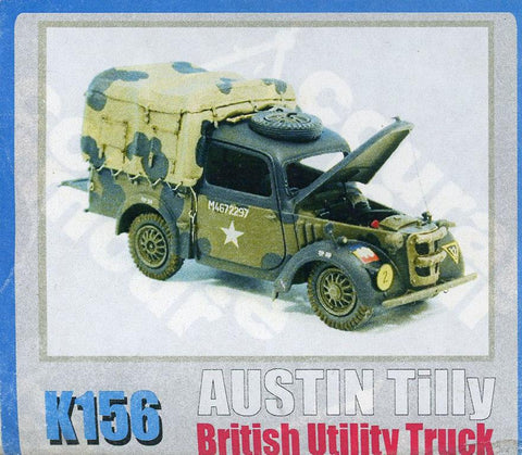 Accurate Armour 1:35 Austin Tilly 4x2 British Utility Truck Resin Kit #K156U N/A Accurate Armour