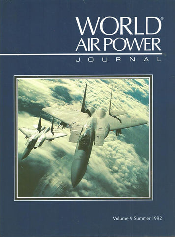 World Air Power Journal Volume 9 Summer 1992 Hardcover Book Aeroplace Publishing N/A Aeroplace_Publishing