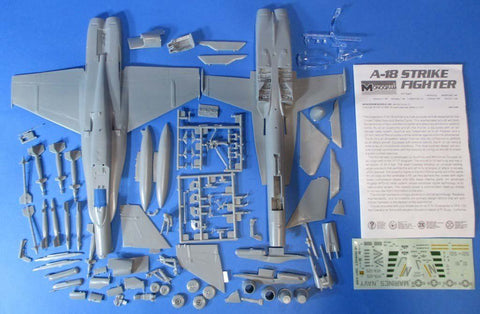 Monogram 1:48 A-18 Strike Fighter Plastic Aircraft Model Kit #5807U1 N/A Monogram