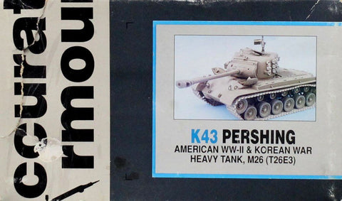 Accurate Armour 1:35 Pershing America WWII & Korean War Heavy Tank M26 #K43U N/A Accurate Armour