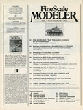 Fine Scale Modeler February 2.1989 Vol.7 No.2 Magazine Compressors Airbrushing U N/A Fine Scale Modeler