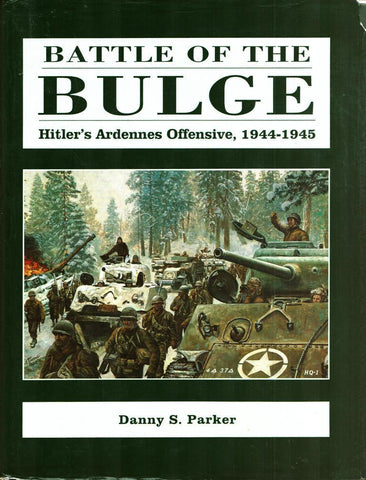 Battle Of The Bulge Hitler's Ardennes Offensive 1944-1945 Hardcover Combined U3 N/A Combined_Books
