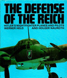 The Defense of the Reich: Hitler Nightfighter Planes Pilots Hardcover ARCO N/A ARCO