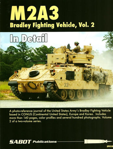 M2A3 Bradley Fighting Vehicle in Europe Vol.2 in Detail SP010 Sabot Publications N/A Sabot_Publications