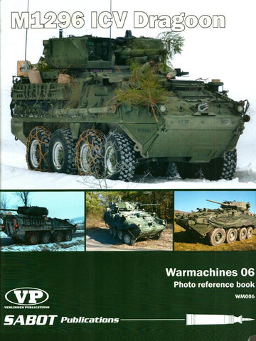 M1296 ICV Dragoon Warmarchines #06 #WM006 Sabot Publications Verlinden N/A Sabot_Publications_Verlinden