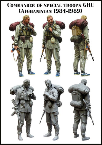 Unpainted Unassembled Figure Model Kit