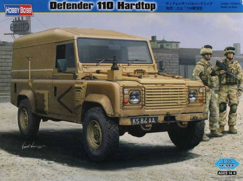 Hobby Boss 1:35 Defender 110 Hardtop Plastic Model Kit #82448 N/A Hobby_Boss