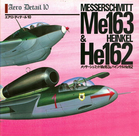 Messerschmitt Me-163 & Heinkel He-162 Aero Detail 10 Model Graphix N/A Model_Graphix