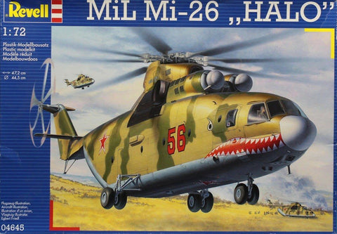 Revell 1:72 Mil Mi-26 Halo Plastic Aircraft Model Kit #04645U