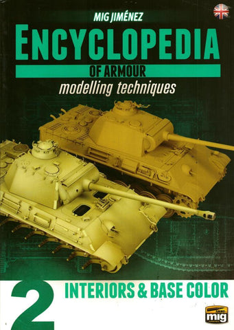 Ammo of Mig Encyclopedia of Armour Modelling Techniques Interiors English #6151 N/A Ammo_of_Mig_Jimenez