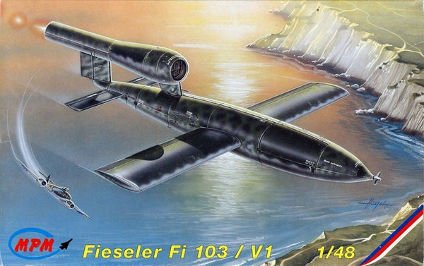 MPM 1:48 Fieseler Fi-103 V1 Plastic Model Kit #48050U
