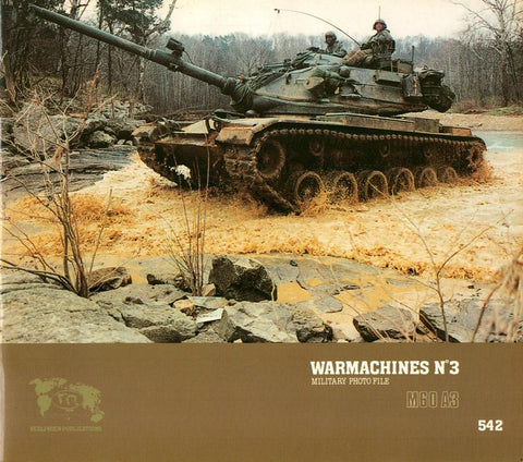 Verlinden Warmachines No.3 Military Photo File M60A3 Patton Main Battle #542 N/A Verlinden