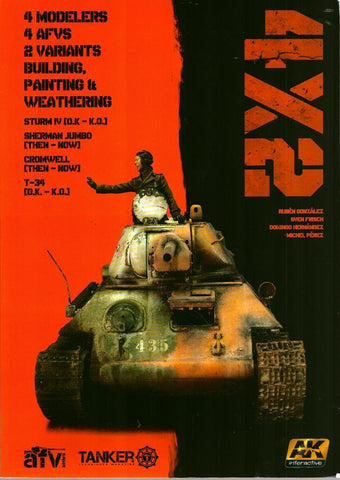 4X2 Building Painting & Weathering AFV Tanker #4801 AK Interactive N/A AK_Interactive