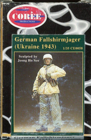 Coree Productions 1:35 German fallsgirmjager Ukraine 1943 Figure Kit #CE0058 N/A Coree Productions