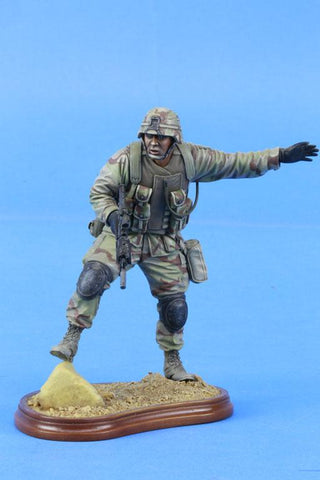 Verlinden 120mm 1:16 101st Airborne Iraq 2003 #2008 Original Display #VPB2030V1 N/A Verlinden Productions