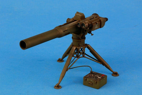 Verlinden Built 1:16 120mm US BGM-71 Tow Launcher Original Display #VPBBGM71 N/A Verlinden Productions
