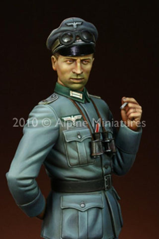 Alpine Miniatures 1:16 WWII German Infantry Officer - Resin Figure #16009 N/A Alpine Miniatures