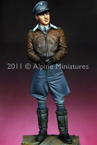 Alpine Miniatures 1:16 WWII Luftwaffe Ace Werner Molders - Resin Figure #16014 N/A Alpine Miniatures