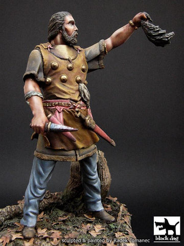 Black Dog 75mm Scithian Warrior Resin Figure #F75010 N/A Blackdog