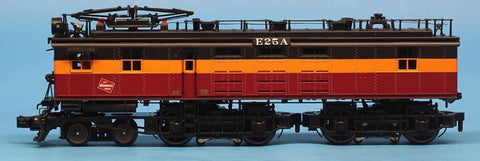 MTH 1:48 O Scale Milwaukee Road EF-3 Electric Engine A-Unit w/Proto-Sound 3.0 Cab No.E25A #20-5698-1A