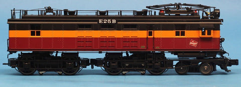 MTH 1:48 O Scale Unit Milwaukee Road EF-2 Electric Non-Powered Dummy Booster Engine #E25B Train Model #20-5698-1B