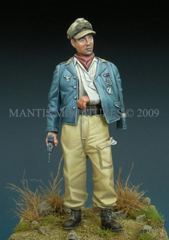 Mantis Miniatures 1:35 German Paratrooper NCO Italy 1944 Resin Figure Kit #35001 N/A Mantis Miniatures