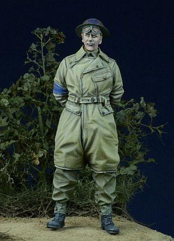 D-day Miniature 1:35 WWII British Military Policeman 1943-45 - Resin Kit #35011 N/A D-day Miniature