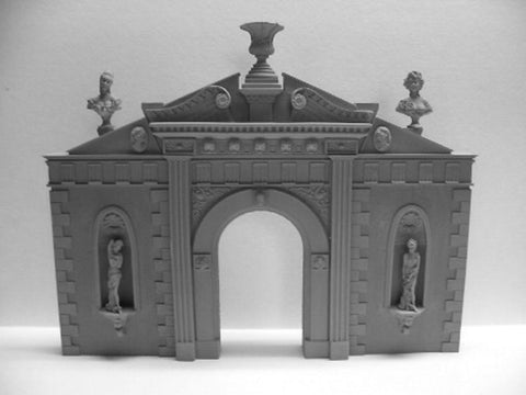 Reality In Scale 1:35 Baroque Gate 17th Century - Resin Diorama Accessory #35024 N/A Reality In Scale