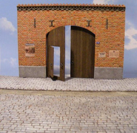 Reality In Scale 1:35 Farm Gate - Resin Diorama Accessory #35095 N/A Reality In Scale