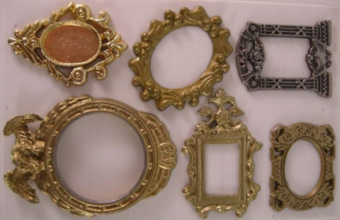 Reality In Scale 1:35 Mirror Set 6pc Resin Accessory w Mirror SHeet #35104 N/A Reality In Scale