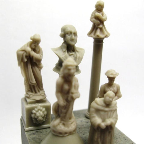 Reality In Scale 1:35 Mini Statue Set 10pc - Resin Diorama Accessory i#35171 N/A Reality In Scale
