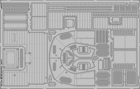 Eduard 1:35 BR 86 Interior for Trumpeter Kit - PE Detail Set #36176 N/A Eduard