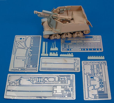 Royal Model 1:35 German 39 (H) 10,5 cm- Part 1 (Trumpeter) -PE Resin Set #427 N/A Royal Model