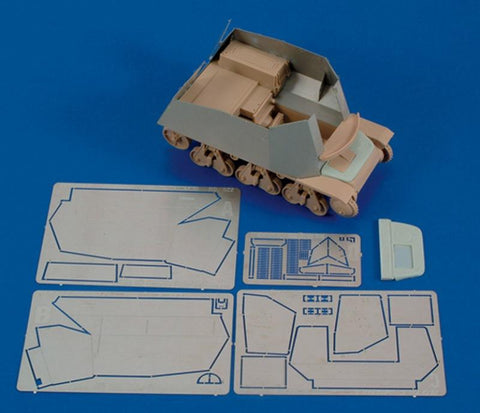 Royal Model 1:35 German 39(H) 7.5/10.5 cm-Part 2?? for Trumpeter - PE Resin #429 N/A Royal Model