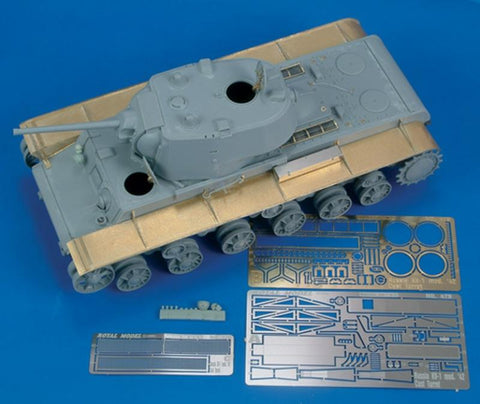 Royal Model 1:35 KV-1 Mod 42 Cast Turret Detail Part 1 Trumpeter- PE Set #479 N/A Royal Model