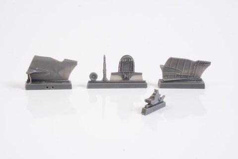 CMK 1:32 A6M5c Zero Tail Cone Set for Hasegawa Resin Detail Set #5118 N/A CMK