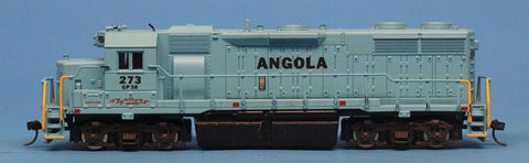 Atlas HO Scale GP-38 GP38 Locomotive Angola #273 Low Nose Train Engine #7062U N/A Atlas