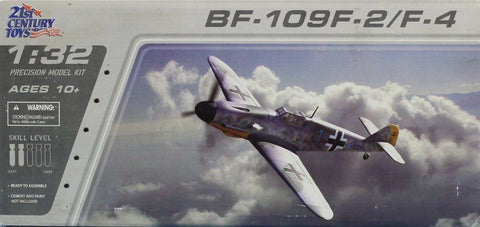 21st Century Toys 1:32 BF-109 F2/F4 Bf109 Plastic Aircraft Model Kit #22103U N/A 21st_Century_Toys