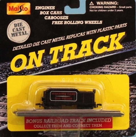 Maisto 1:160 N Gauge On Track Roaring Camp Big Trees Tender Car Metal Diecast Model #15131