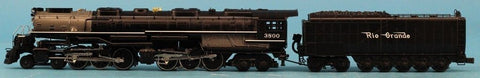 MTH O Gauge 4-6-6-4 Denver Rio Grande No.3800 Challenger Steam Engine and Tender #3800U