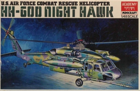 Academy Minicraft 1:48 US Combat Rescue Helicopter HH-60D Nighthawk Kit #1613 N/A Academy_Minicraft